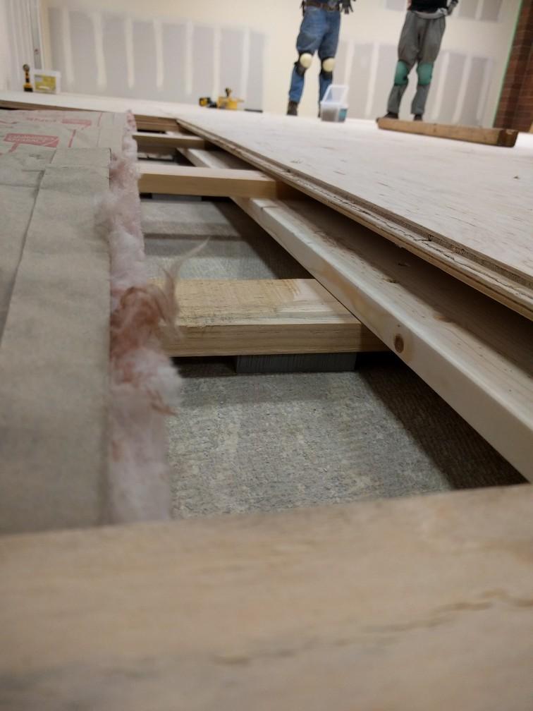 Sprung Floor Detail